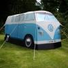 T1 tent, 4 personen, blauw/wit