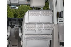 UTILITY for cabin seats ''Pilion/Leather Moonrock Grey''