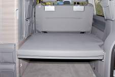 Protective cover rear bed cushion