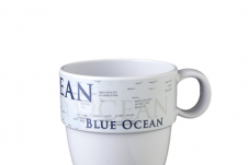 Brunner Blue ocean mok 30cl Wit