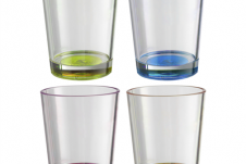 Brunner Multicolor glas 30 cl set (4dlg)
