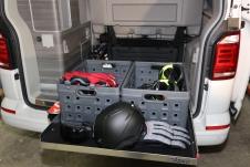 Plancher de chargement extensible HATCH 760mm Calidrawer (avec transit)