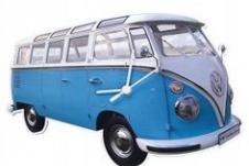 Volkswagen T1 Bully klok Blauw