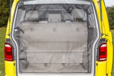 FLYOUT tailgate opening with arched door VW T6/T5 Multivan as from 2010 / California Beach as from 2011