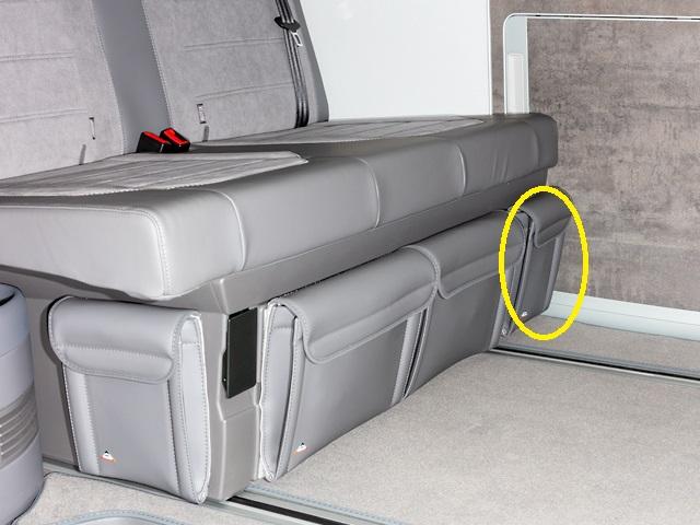 encadré NEUF 2 X SIS-Tec Ressort Coffre 701829331j pour VW TRANSPORTER IV BUS