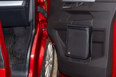 MULTIBOX voor de rechterdeur van de VW T6.1, Black Titanium Leather
