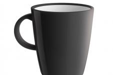 Brunner Hot Mug Zwart 30 cl