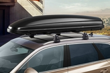 Roof box 460L matt black with fast-click